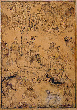 Abd al Samad Akbar and a Dervish ca. 1580–90 Aga Khan Museum Collection.jpg