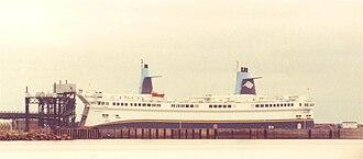 Cape Tormentine, New Brunswick - Image: Abegweit 1996