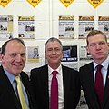 About to head out canvassing with Simon Hughes and Jeremy Browne. -eastleigh (8488824503).jpg