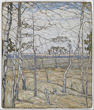 Abraham Manievich - Birch Trees - Google Art Project.jpg