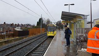 Abraham Moss tram stop