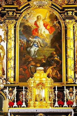 Johann Michael Rottmayr - Image: Abteikirche Michaelbeuern 35