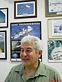 """Academia da Força Aérea (AFA) em Pirassununga-SP-Brasil. O primeiro astronauta brasileiro, Marcos Pontes no """"Ninho das Águias"""", na sala do Esquadrão de Demonstração Aérea (EDA) popularme - panoramio.jpg"""