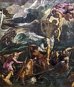 Accademia - St. Mark saves a Sarracen by Tintoretto.jpg