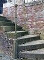 Acheux-en-Amiénois chapelle funéraire Bellet (montant rampe escalier) 1.jpg