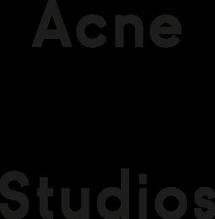 Acne Studios multidisciplinary luxury fashion house based in Stockholm, Sweden