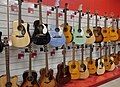 Acoustic guitars in store 20180625.jpg