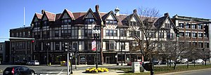 National Register of Historic Places listings in Quincy, Massachusetts - Image: Adams Building Quincy MA 03
