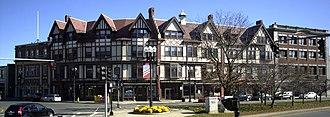 Adams Building (Quincy, Massachusetts) - Image: Adams Building Quincy MA 03