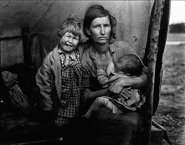 Additional image from Migrant Mother series, from Oakland Museum Collection 02.jpg