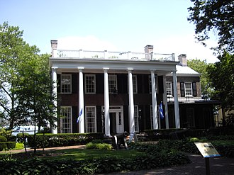 National Register of Historic Places listings in Manhattan on islands - Image: Admirals house governors island