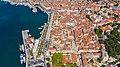 Aerial view of Diocletian's Palace in Split, Croatia (48608247353).jpg