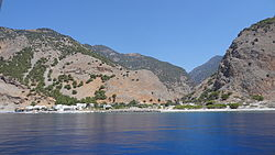 Agia Roumeli seen from ferry.JPG