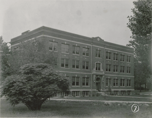 Agricultural and Technical College of North Carolina Historic District - Noble Hall in 1926
