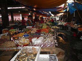 Aguilar, Pangasinan - Aguilar Public Market interior