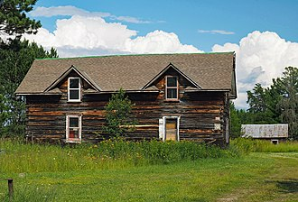 National Register of Historic Places listings in St. Louis County, Minnesota - Image: Aho Farmstead