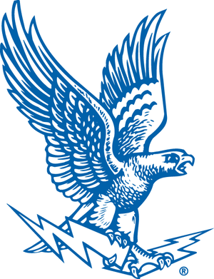 1986 Air Force Falcons football team - Image: Air Force Falcons logo 1963 1994