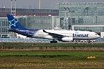 Air Transat Airbus A330-243 C-GTSJ (27472520325).jpg