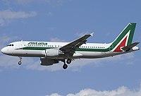 EI-DTL - A320 - Alitalia