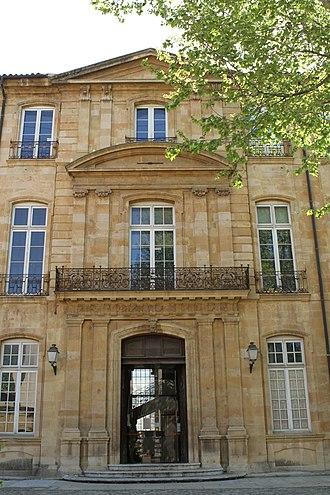 Hôtel de Caumont - Facade of the Hôtel de Caumont
