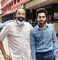 Ajayrajeshkumar with sriram venkitaraman.jpg
