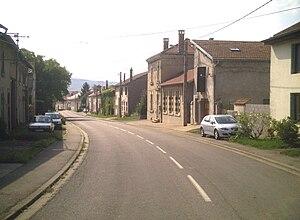 Ajoncourt - Image: Ajoncourt