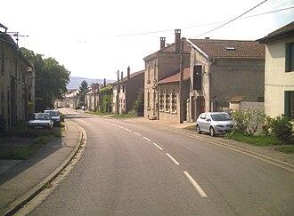 Ajoncourt - A view within Ajoncourt