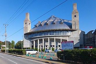 CNA Arena Akita - Image: Akita Municipal Gymnasium 20161019c