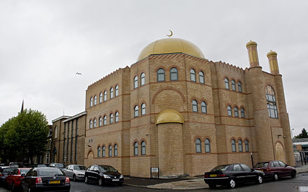 The Al-Rahma Mosque in the Toxteth area of Liverpool Al-Rahma Mosque, Liverpool.jpg