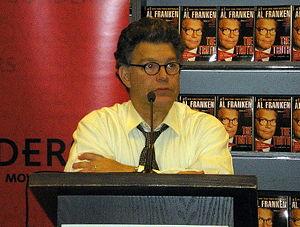 Al Franken: God Spoke - Franken on book tour, promoting his 2005 release, The Truth (With Jokes).