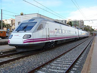 Alaris - An Alaris trainset at Tarragona.