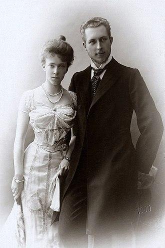 Elisabeth of Bavaria, Queen of Belgium - Engagement photo of Elisabeth and Albert