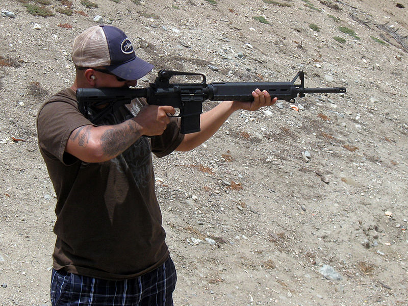 File:Albert with the AR-15 - 9232050728.jpg