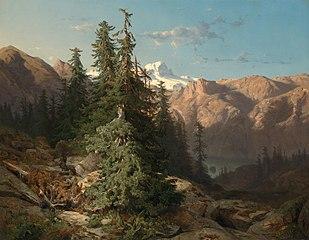 In het Berner Oberland