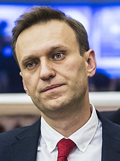 Alexei Navalny Russian anti-corruption activist