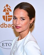 Photo of Alicia Vikander.
