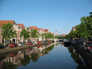 North Holland - Canal in Alkmaar