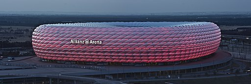 Allianz arena golden hour Richard Bartz