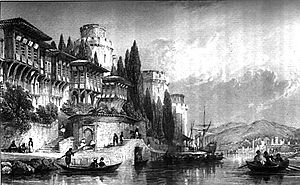 Thomas Allom - The Bosphorus with the Castles of Europe and Asia by Allom