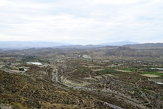 Tabernas Desert - Panorama.