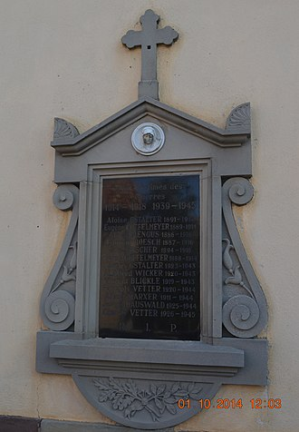 Altenheim - Altenheim War Memorial