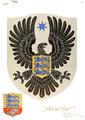 Alternative Coat of arms of Estonia 1922 Author Günther Reindorff.png