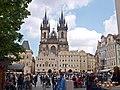 Altstädter Ring mit Teynkirche, Praha, Prague, Prag - panoramio.jpg