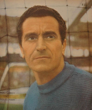 Amadeo Carrizo - Carrizo as covered on El Gráfico  magazine in 1961.