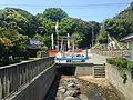 Amanogawa River and toriis of Munakata Grand Shrine (Nakatsu Shrine).JPG