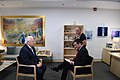 Ambassador Friedman interviews to Ch10 and Ch 2 (27433267027).jpg