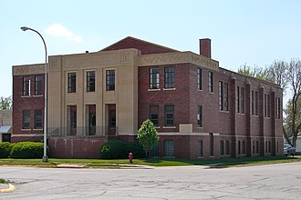 National Register of Historic Places listings in Cass County, Iowa - Image: American Legion Atlantic IA