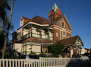 Ashfield, New South Wales - Amesbury, heritage-listed home of Norman Selfe