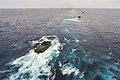 Amphibious assault vehicles launch from USS Bonhomme Richard 150304-N-UF697-009.jpg