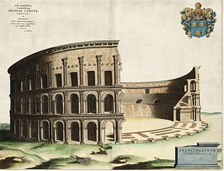 Amphitheater of Statilius Taurus former roman amphitheater in Rome